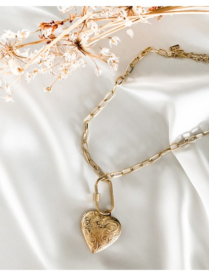 COLLIER COEUR PHOTO