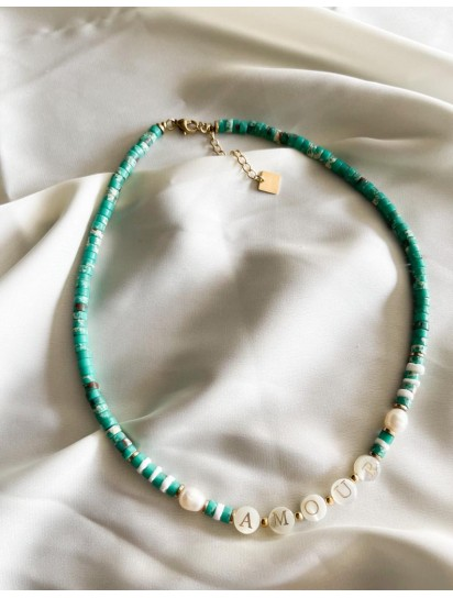 collier amour Jaspe...