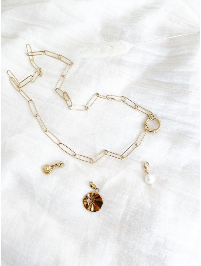 collier micky long charms...