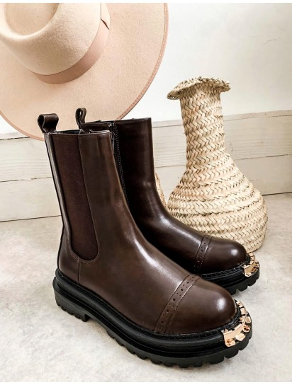 boots maryline brown