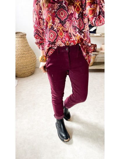 Chinos Everyday bordeaux
